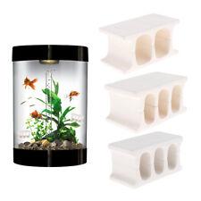 3 pcs/set Ceramic Spawning Brick Shrimp Shelter Fish Breeding Spawning Cave