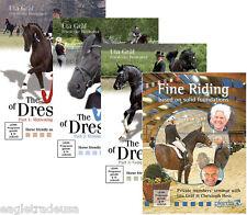 The Joy of Dressage, Vol.1-3 & Fine Riding by Uta Graf - 4 DVD Set