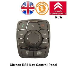 Citroen DS5 Nav Traffic Aid Radio Media Phone Control Panel Button Switch NEW