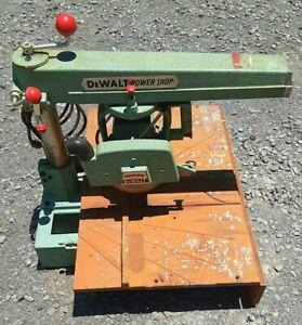 DeWalt Power Shop Radial Arm Saw Vintage Model 500142