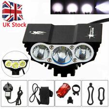 Rechargable LED Bike Bicycle Light X2 X3 Headlight Headlamp Head Torch Cree XML
