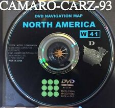 2004 2005 2006 2007 Toyota Lexus sc430 Highlander Sequoia Land C. Nav. DVD Map