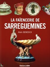 Sarreguemines Faience and Majolica, French book