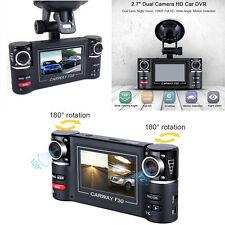 Dual Lens Car Vehicle DVR Dash Cam Digital Video Recorder 1080P HD Night Vision