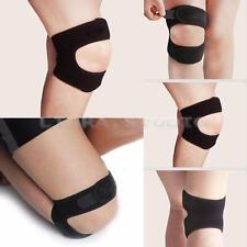 Black Neoprene Patella Support Knee Stabilizer Strap Brace Guard Running Sport