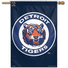 Detroit Tigers Banner Flag 28 x 40 Retro