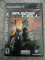 Splinter Cell Pandora Tomorrow - Complete - Tested & Works - Playstation 2 PS2