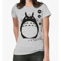 Totoro Graphic T-Shirt, Studio Ghibli Anime Women's Tee