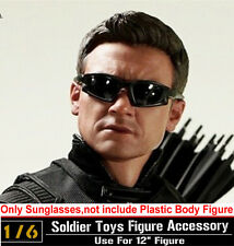 "1:6 Hottoys HT The Avengers Hawkeye Black Sunglasses Glasses F 12"" Action Figure"
