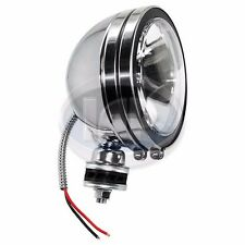 "6"" Round Chrome Offroad Spot Light 100W AC941521 Clear, H3 Lamp"