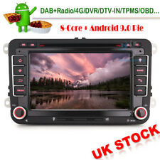 4GB RAM Android 9 DAB Radio CD GPS SatNav Head Unit For VW Jetta Golf MK5 Amarok