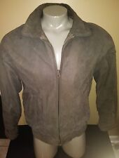 Vintage Members Only Size 42L Leather Bomber Jacket