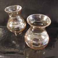 2 tulipes verre cristal lampe lustre Art Nouveau Déco Design XXe PN France N3092