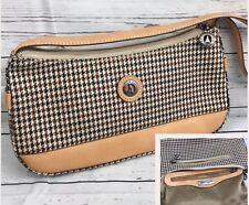 La Tour Eiffel Handbag Shoulder Bag Purse Designer Signature Brown Tan