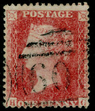SG40, 1d rose-red PLATE 63, LC14, FINE USED. Cat £50. HG