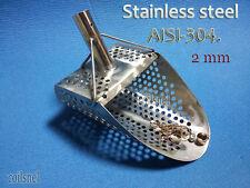 """Sand Scoop """" Standart -9m """" Metal Detector Tool from Genuine Stainless Steel 2mm"""