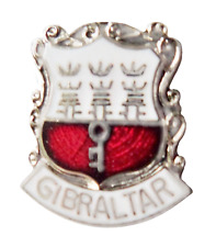 Gibraltar Coat of Arms Pin Badge