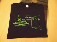 RETRO GAMERS BLACK T SHIRT BATTLE ZONE DESIGN S M L XL XXL BattleZone Atari