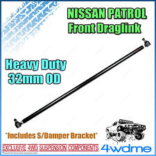 Nissan Patrol GU Y61 4WD Adjustable Heavy Duty Greaseable Front Draglink 32mm OD