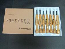 Mikisyo Japanese Power Grip Wood Carving Tool Kit set 7pcs