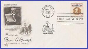 USA5 #1148 U/A ARTCRAFT FDC   Thomas G. Masaryk