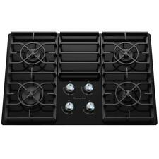 "KitchenAid Kgcc506Rbl 30"" Black 4 Burner Gas Cooktop Nob #33137 Clw"