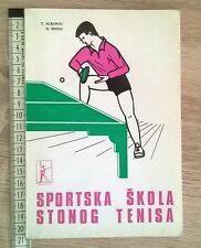 TABLE TENIS SCHOOL, BELGRADE 1974, YUGOSLAVIA, PARTIZAN