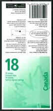 CANADA - Libretto - 1998 - Foglia d'acero stilizzata (libretto da 8 $ 10 c.)