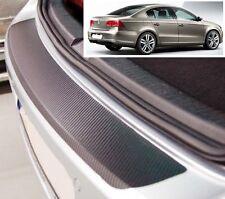 VW Passat B7 saloon - Carbon Style rear Bumper Protector