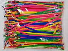 Modelling Balloons 260Q/ D4 Assorted Colours Bulk Pack of 1000 Entertainer/Party