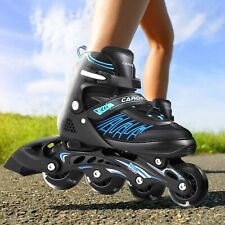 New listing NEW Adults Kids Inline Skates Outdoor Sport 5 Sizes Adjustable Roller Blades -US