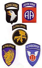 WWII - AIRBORNE DIVISION (Set de 5 - Reproductions)