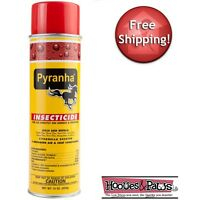 Pyranha Insecticide Aerosol Premise And Horse Fly Spray Kills Mosquitoes 15 oz