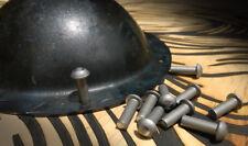 Solid steel RIVET for Shield Boss (12pc)