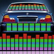 HOT 70*16cm Car Sticker Music Rhythm LED Flash Light Sound Activated Equalizer