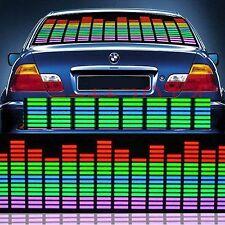 HOT 70*16cm Car Sticker Music Rhythm LED Flash Light Sound Activated Equalizer