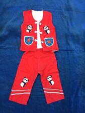 Chinese Geisha Girl PANDA Handmade Girls 3T Toddlers Outfit China Asian Costume