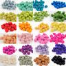 Choose Colors 2cm Pom Pom Felt Balls Nursery Jewelry making Beads Supplies DIY