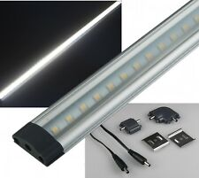 SMD LED Unterbauleuchte 50cm Daylight 430lm Alu Lichtleiste 12v leiste leuchte