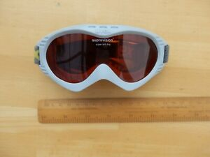 Uvex Supravision children's ski goggles, anti-fog, tinted lens, barely used