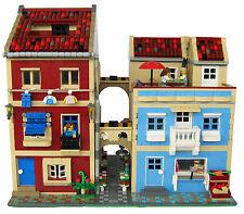 LEGO MOC Custom Modular Traditional Italian Building Block instructions 10255