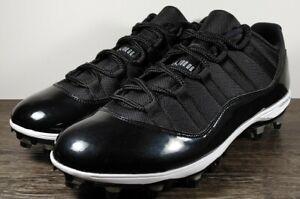 Air Jordan 11 XI Retro Low TD 'Space Jam' Men's Size 12.5 Football AO1560-011