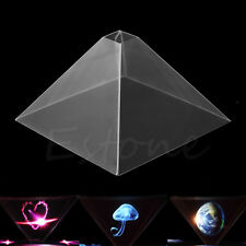 For iPad Tablet PC  6.5''~12'' 3D Holographic Display Pyramid Stand Projector