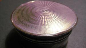 ANTIQUE METAL RINGS/EARRINGS BOX