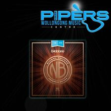D'Addario NB1253 12-53 Nickel Bronze Light Gauge Acoustic Guitar Strings NYXL