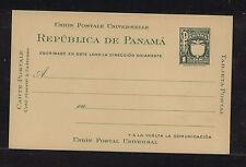 Panama postal card Panama seal unused Ps0415