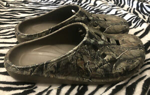 Unbranded Realtree Slip-On Shoes Croc Like Men's Size 13 Very Good Preowned
