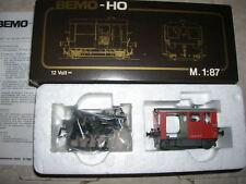 BEMO H0 HO 1477 - Baudienst-Traktor Tm II der SBB - Fährt mit Motor - RAR