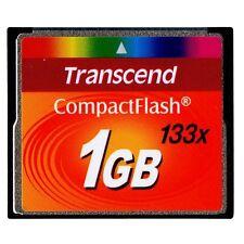 Transcend CompactFlash CF Card 1GB 133X  Memory Card