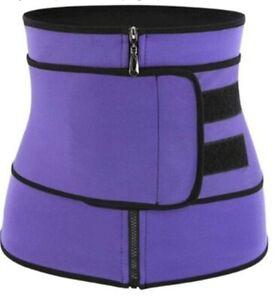 Brand- Women Shapewear Belt Body Shaping Zipper Belly Belt Sports Belt...